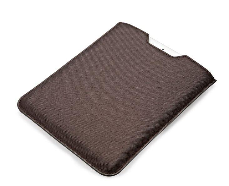 Metallic  iPad Sleeve, Gunmetal