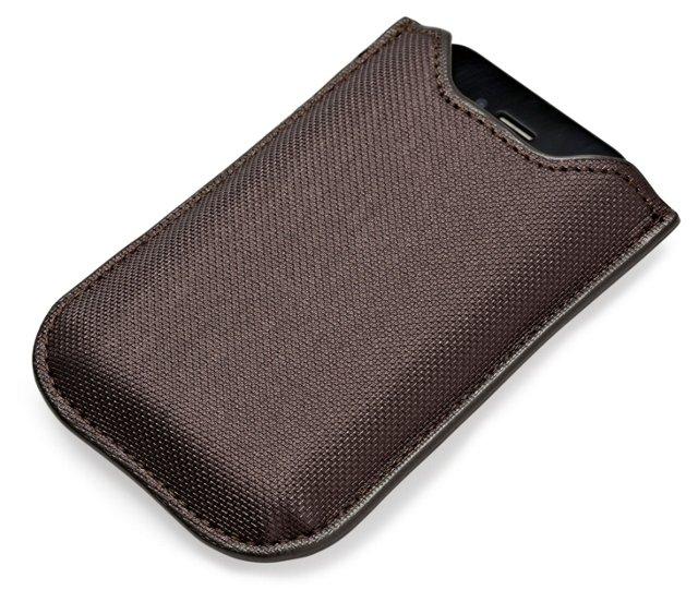 Metallic iPhone Sleeve, Gunmetal