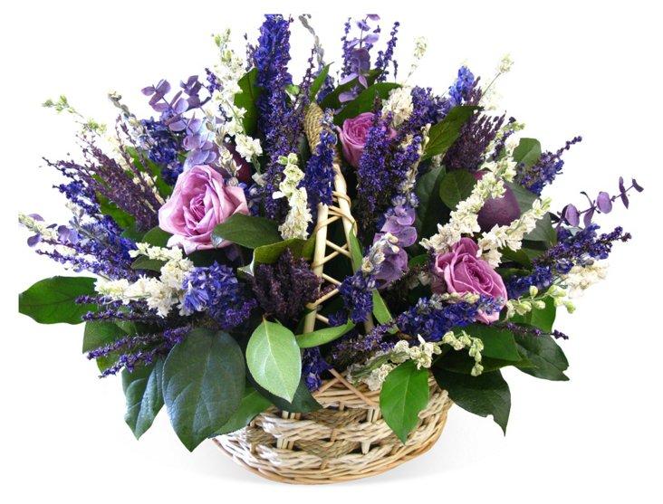 """12"""" Lavender Arrangement, Dried"""