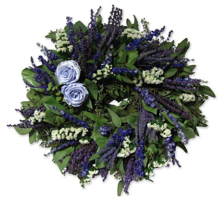 "18"" Provence Wreath, Dried"