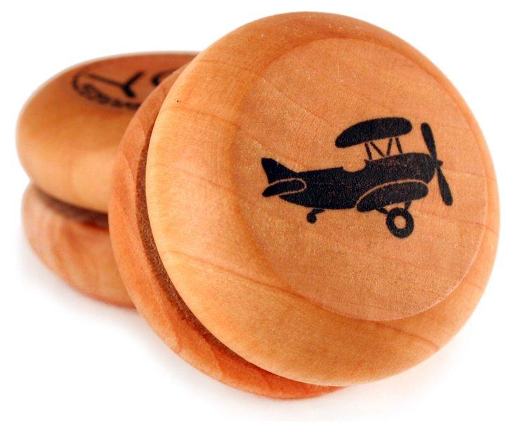 Wooden Yo-Yo, Airplane