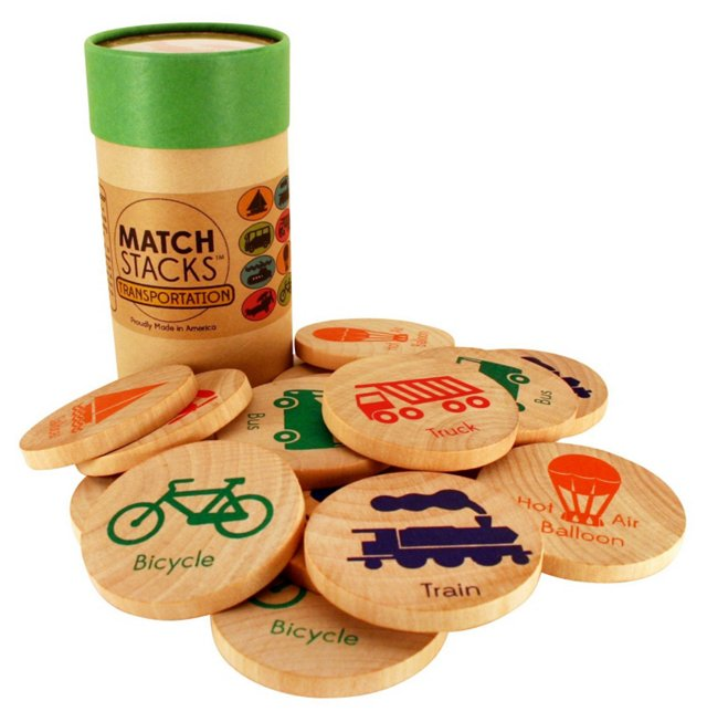 MatchStacks Memory Game, Transportation