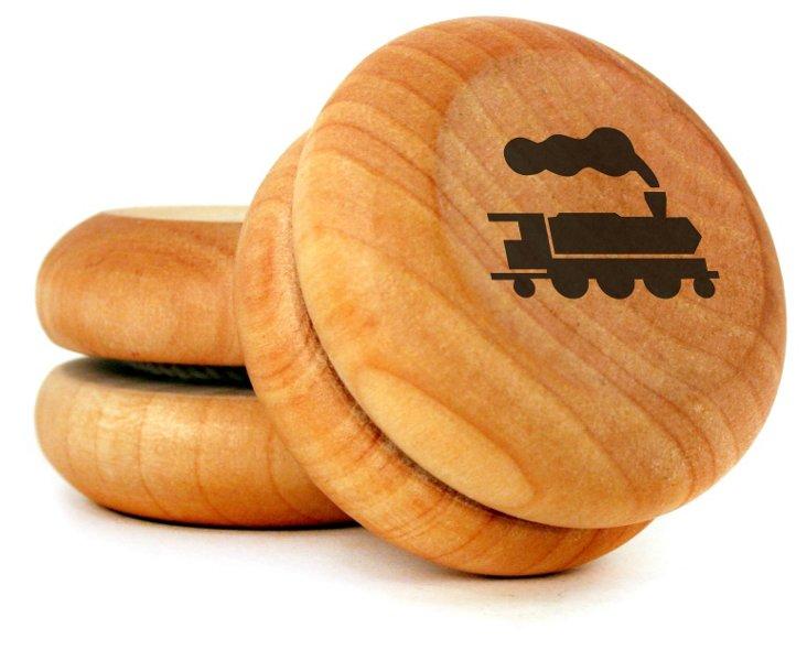 Wooden Yo-Yo, Train