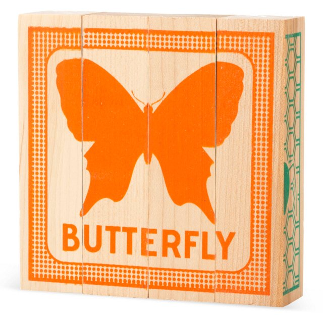 Puzzled Wood Blocks, Flying Insects