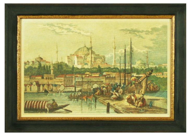 Turkish Merchants at Bosphorus Strait