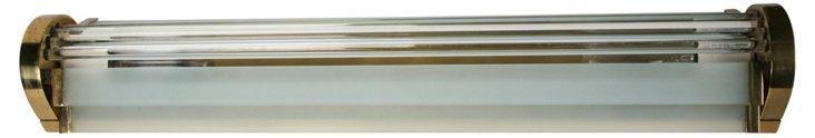 Glass & Brass Wall Appliqué