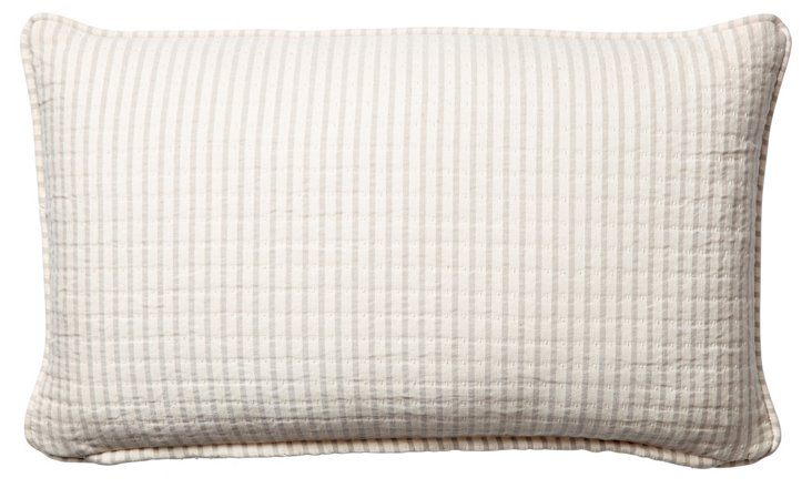 Equinox 12x20 Cotton Pillow, Natural