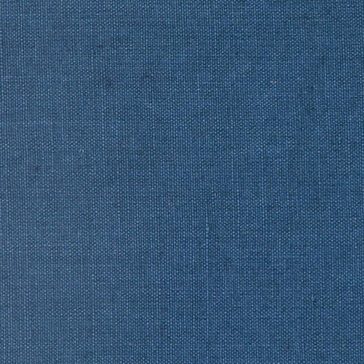 Lance Linen Fabric, Navy