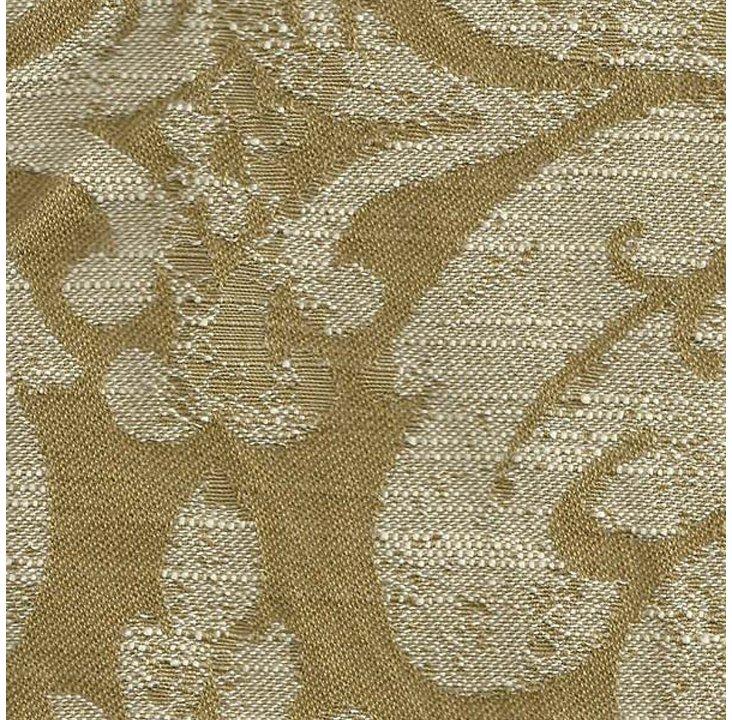 Damask Cotton-Blend Fabric, Gold