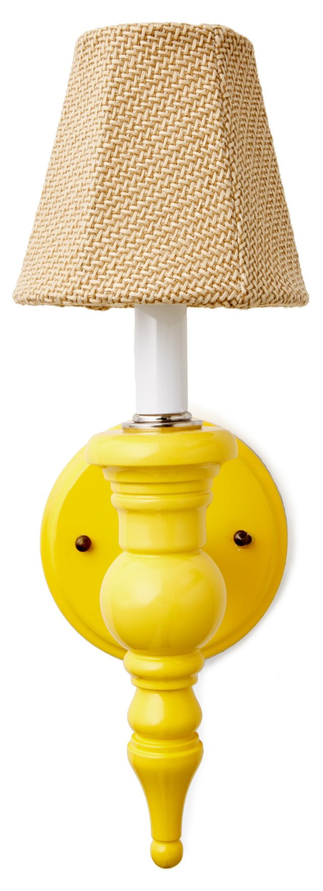 Cupcake Sconce, No Scurvy Lemon