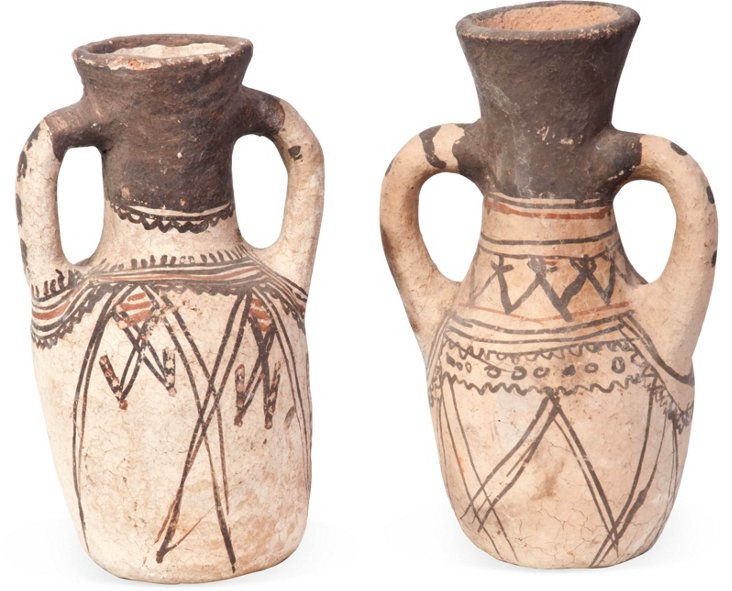 Moroccan Vessels, Pair