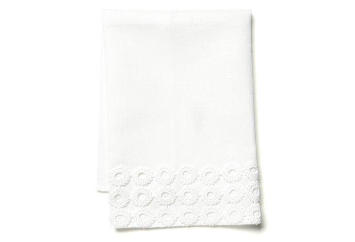 Reef Tip Towel, White