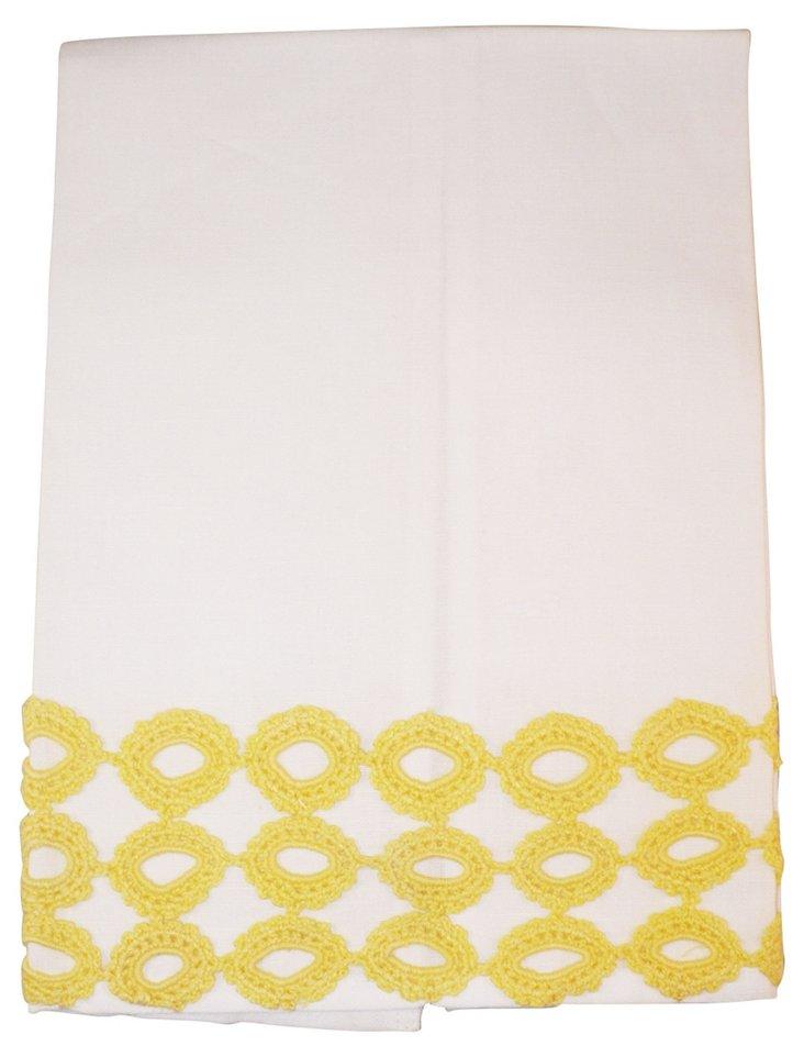 Reef Tip Towel, Yellow