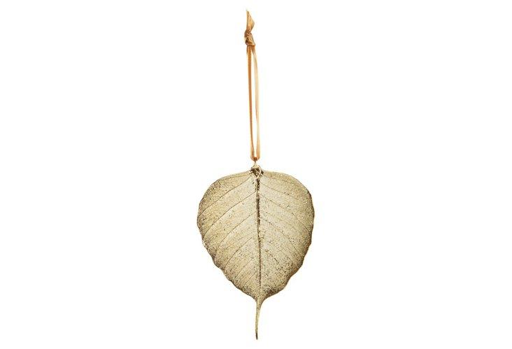 Bodhi Leaf Ornament, Gold