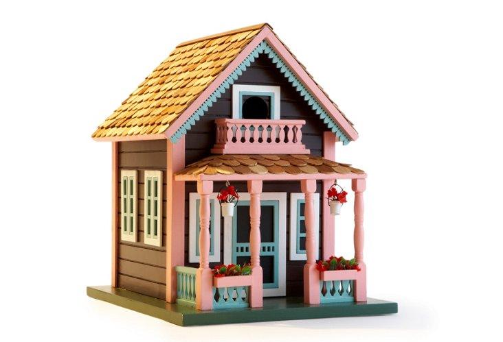 Lake View Cottage Birdhouse