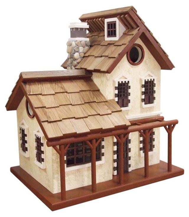 """13"""" Garden Cottage, Brown"""