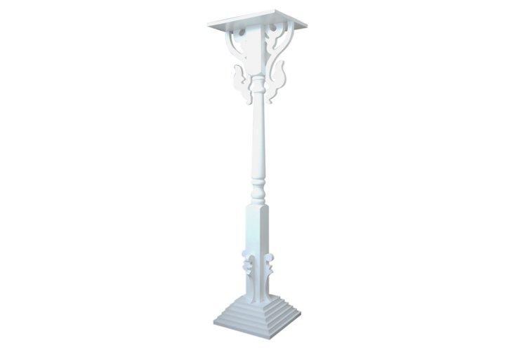 KD Scrollwork Pedestal