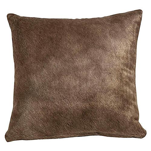 Full-Panel Hide Pillow, Sand