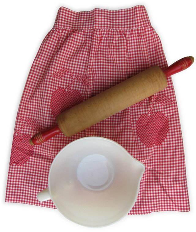 Cherry Hostess Set, 3 Pcs.