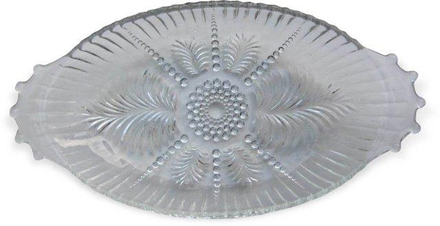 Pressed Glass Dish