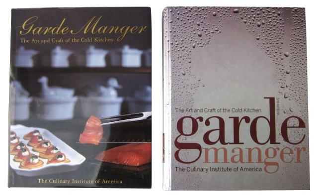 CIA Garde Manger Books, Set of 2