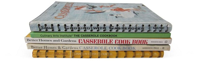 Casserole Cooking, Set of 5