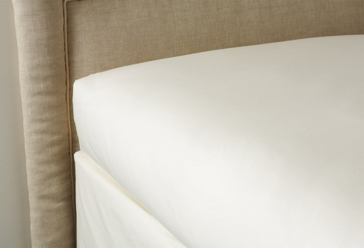 Fitted Sheet, Ivory