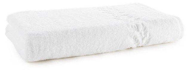 Willow Bath Sheet, White