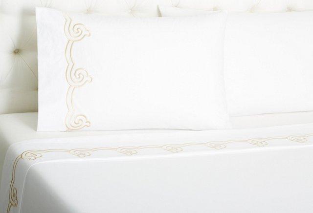 Serenity Sheet Set, Seashell
