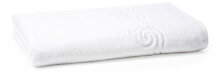 Serenity Bath Sheet, White