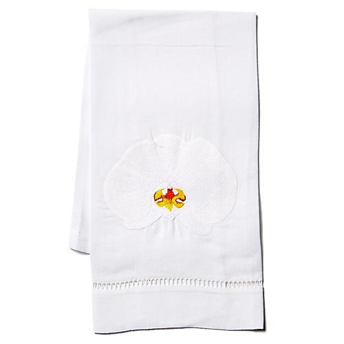 Orchid Linen Guest Towel