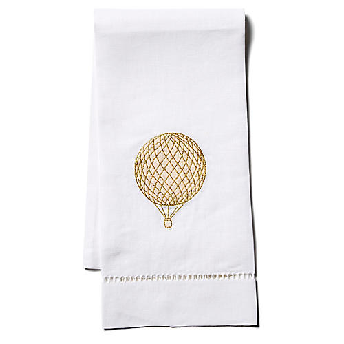 Balloon Linen Guest Towel