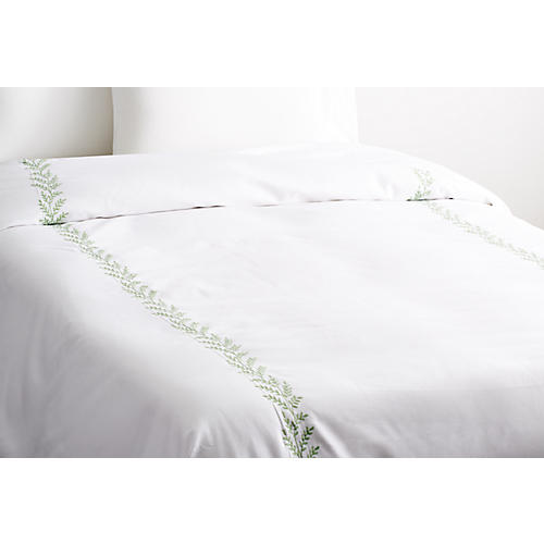 Willow Coverlet, Green