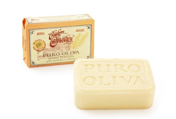 S/2 Pure Olive-Oil Soaps, Aroma Fruttato