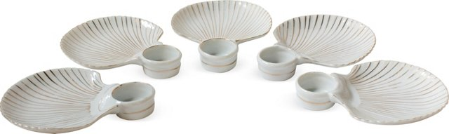 Shell Dishes, Set of 5