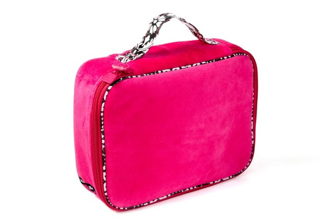Cosmetic Case, Hot Pink
