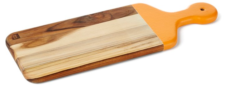 Teak Paddle Board, Orange