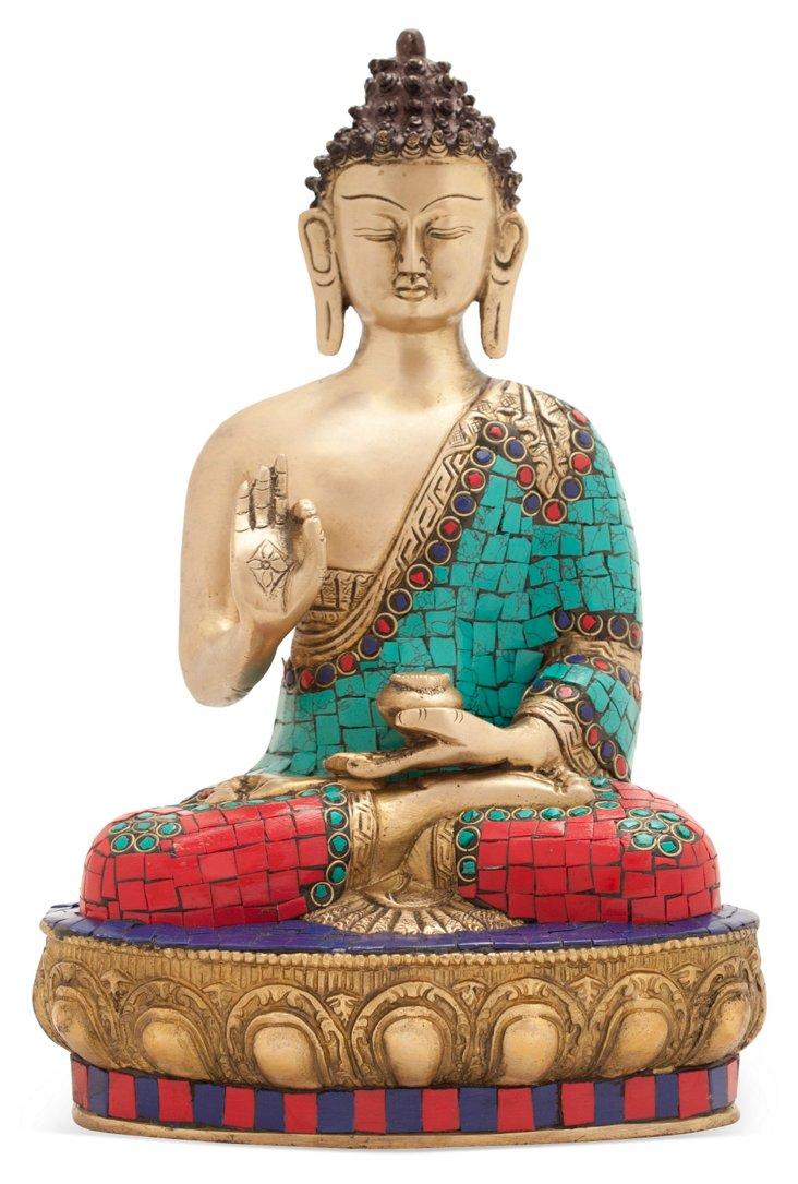 "12"" Sitting Buddha"