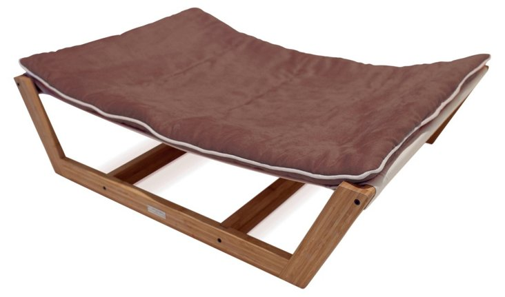 Bambu Pet Hammock, Brown