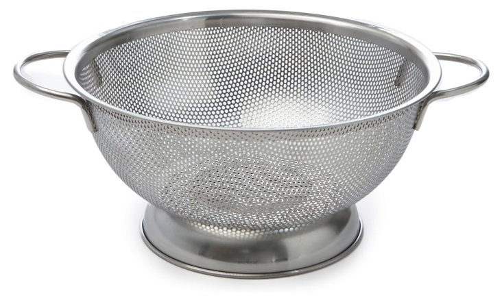 Double-Handle Perforated Colander