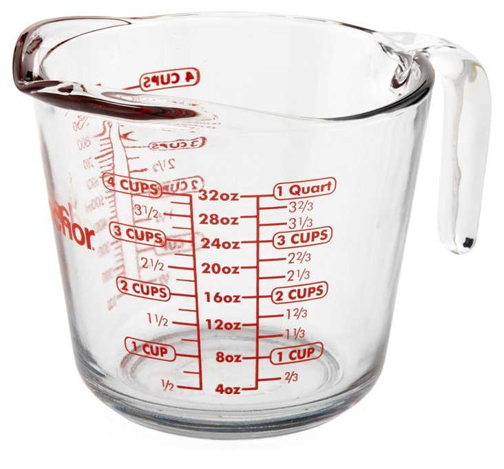 S/2 Measuring Cups, 4-Cup