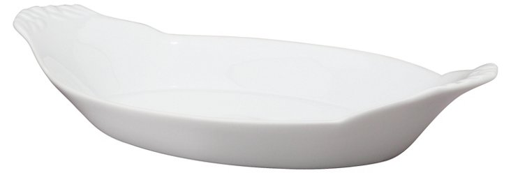 S/2 Oval Au Gratin Dishes