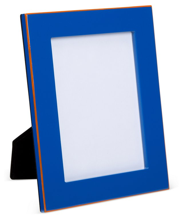 Lacquer Frame, 4x6, Blue