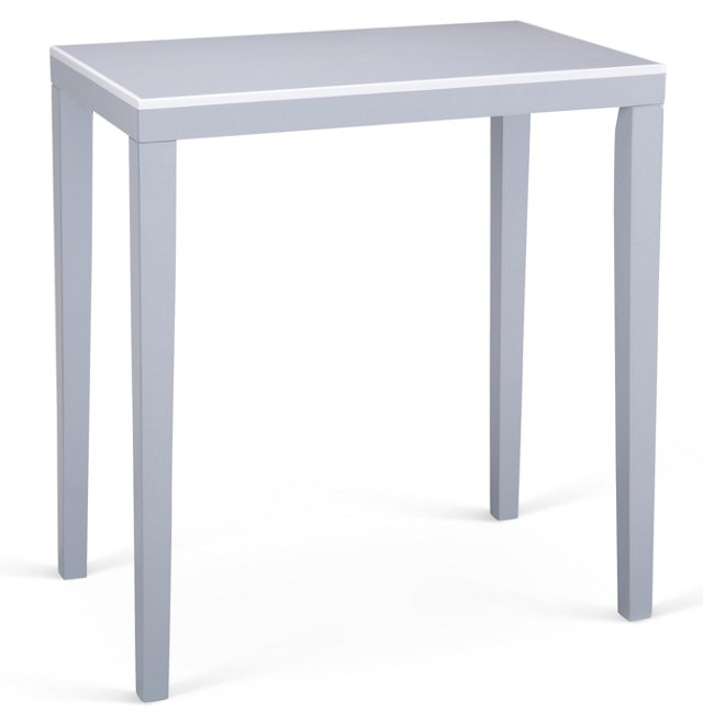 Finley Side Table, Gray