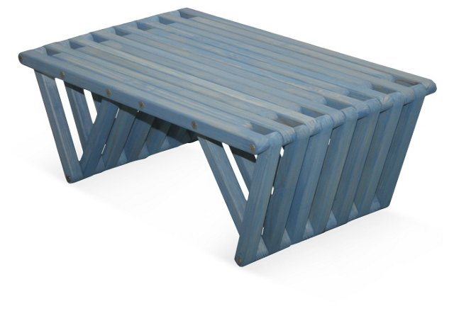 Concord Coffee Table, Light Blue