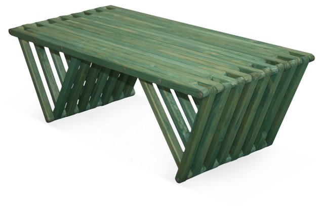 Hingham Coffee Table, Green