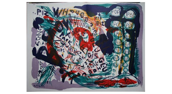 Untitled, 1964 (diptych), Asger Jorn