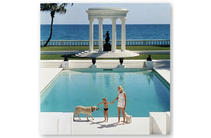 Slim Aarons,  Nice Pool,  1955