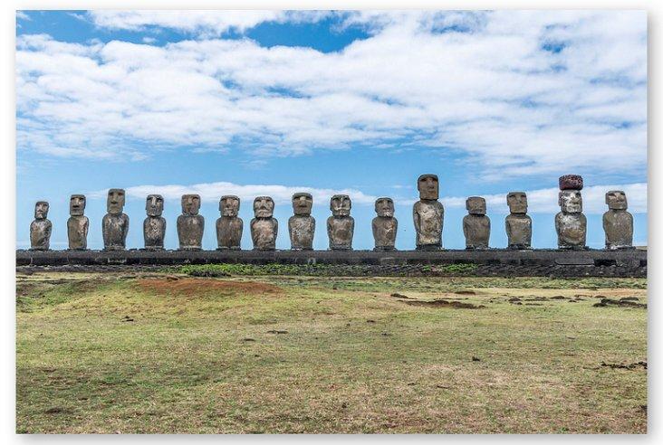 Richard Silver, Easter Island Moai 1