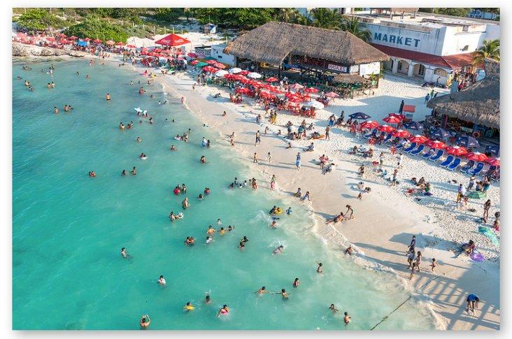 Richard Silver, Cancun Beach